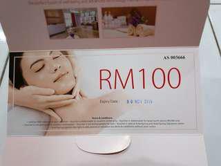 Aster Spring RM100 voucher