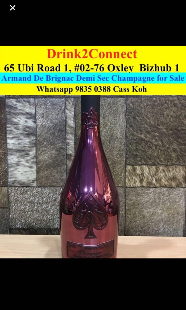 98350388 - Ace of Spades Armand De Brignac Demi Sec Champagne Distributor
