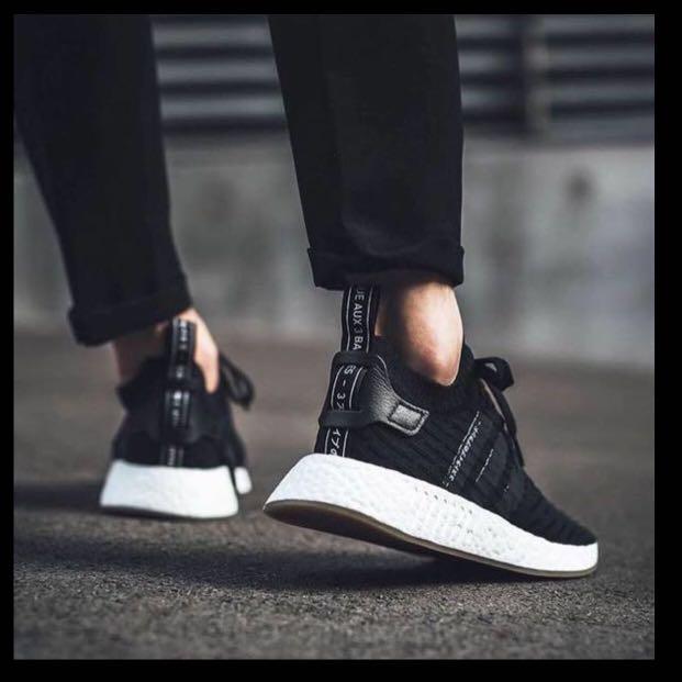 372938215 Adidas NMD R2 PK Japan Black US 9