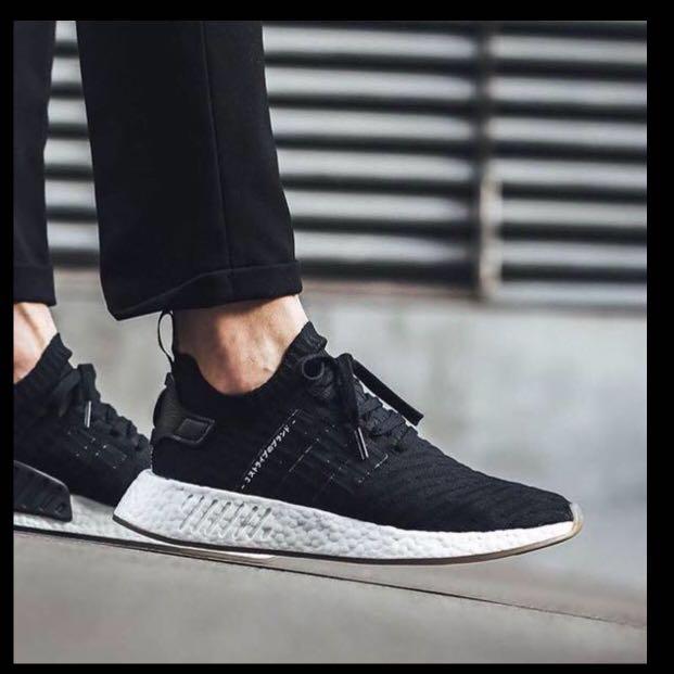 timeless design 93eb9 32939 Adidas NMD R2 PK Japan Black US 9, Men's Fashion, Footwear ...