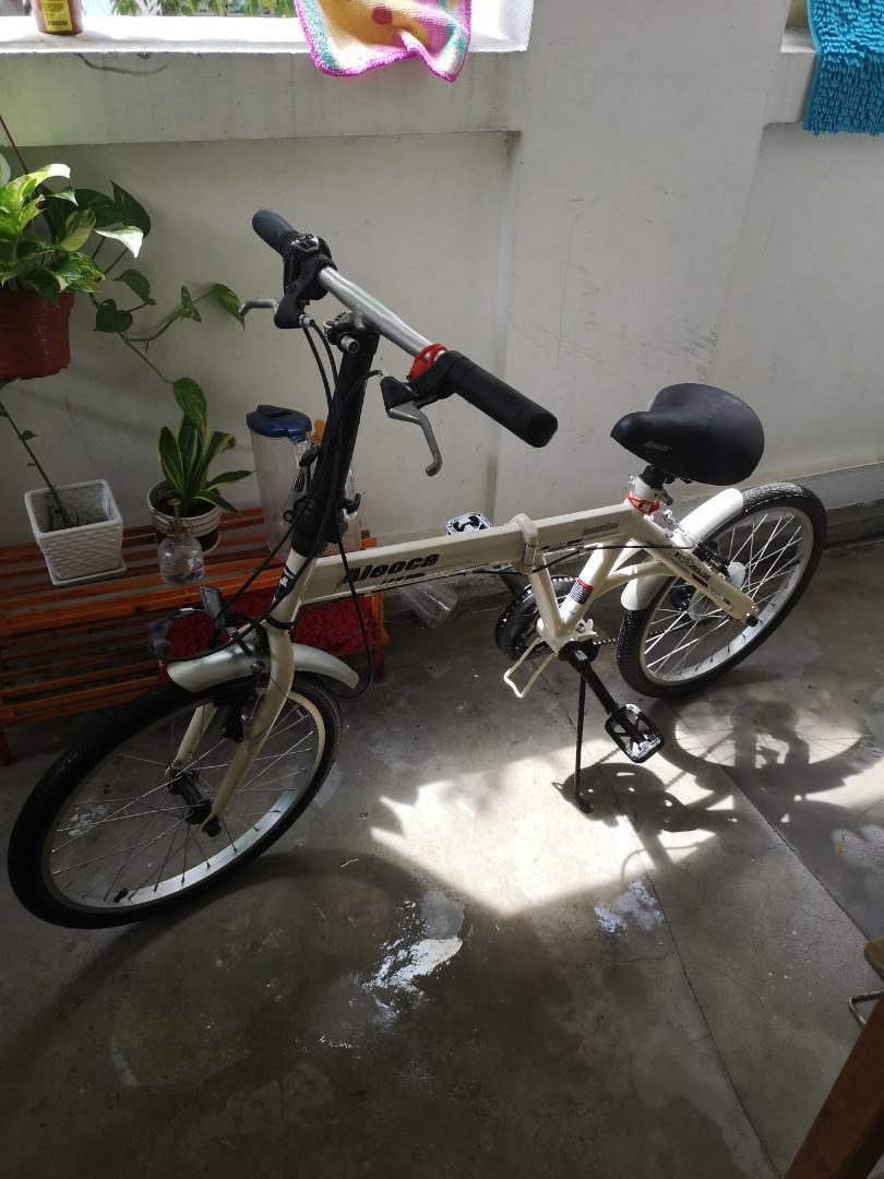Aleoca folding bicycle
