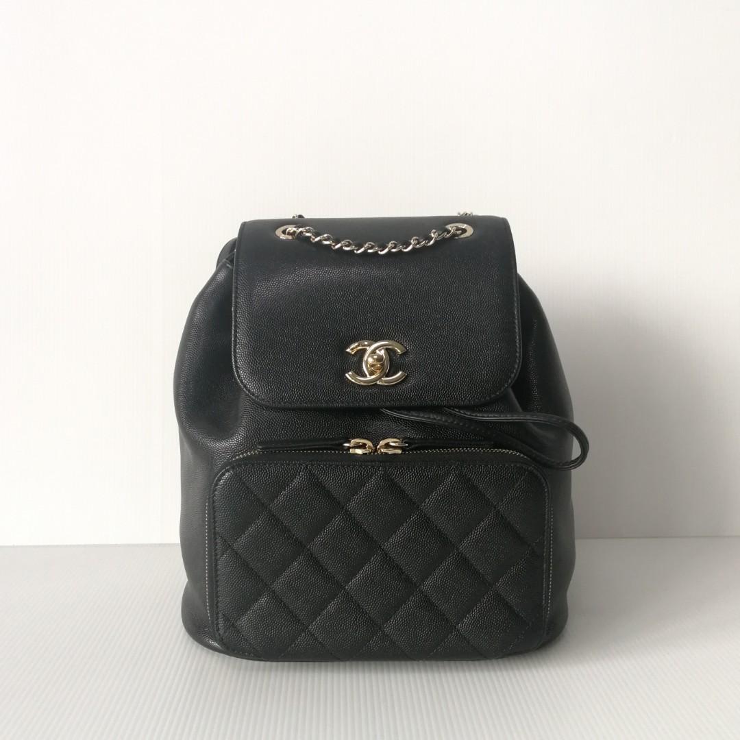 e7eacec97855 Authentic Chanel Affinity Backpack, Barangan Mewah, Beg dan Dompet ...