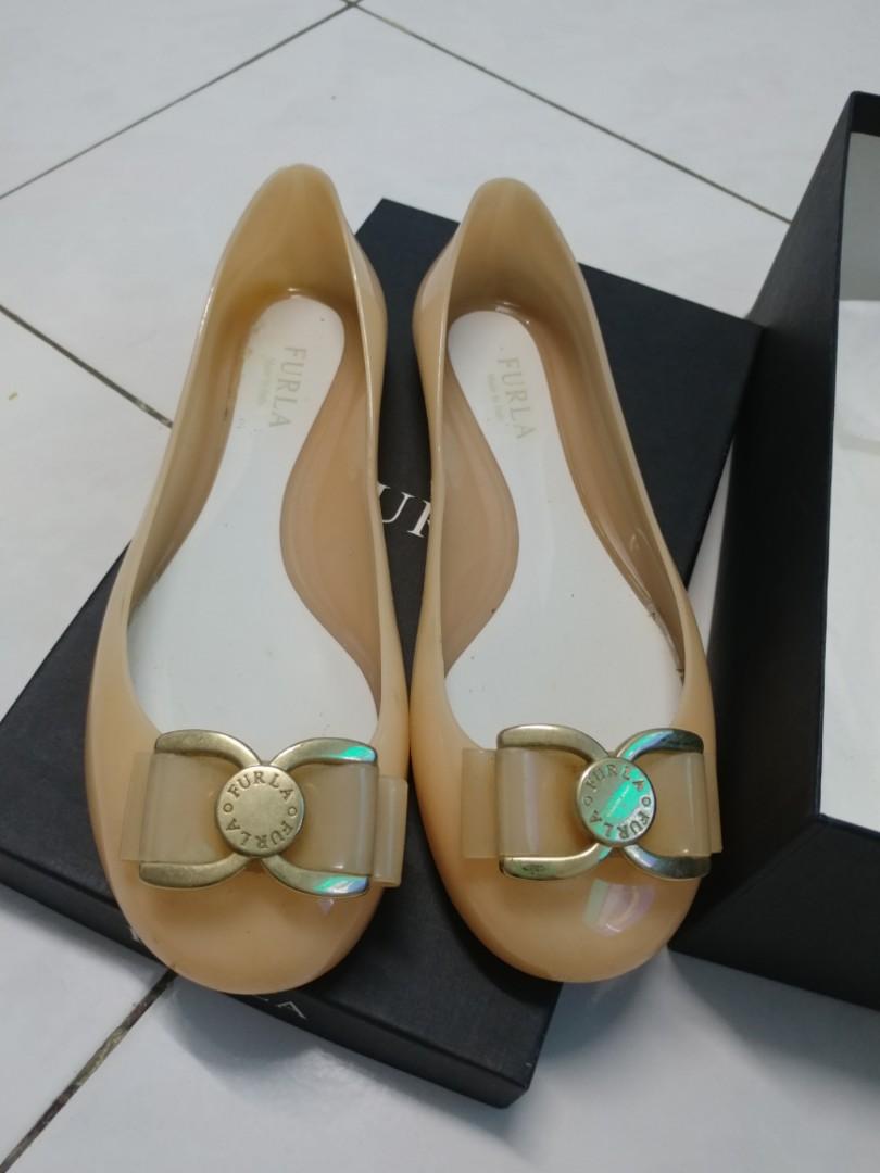 c5952f97f0e4 Authentic Furla Jelly Ballerina Shoes
