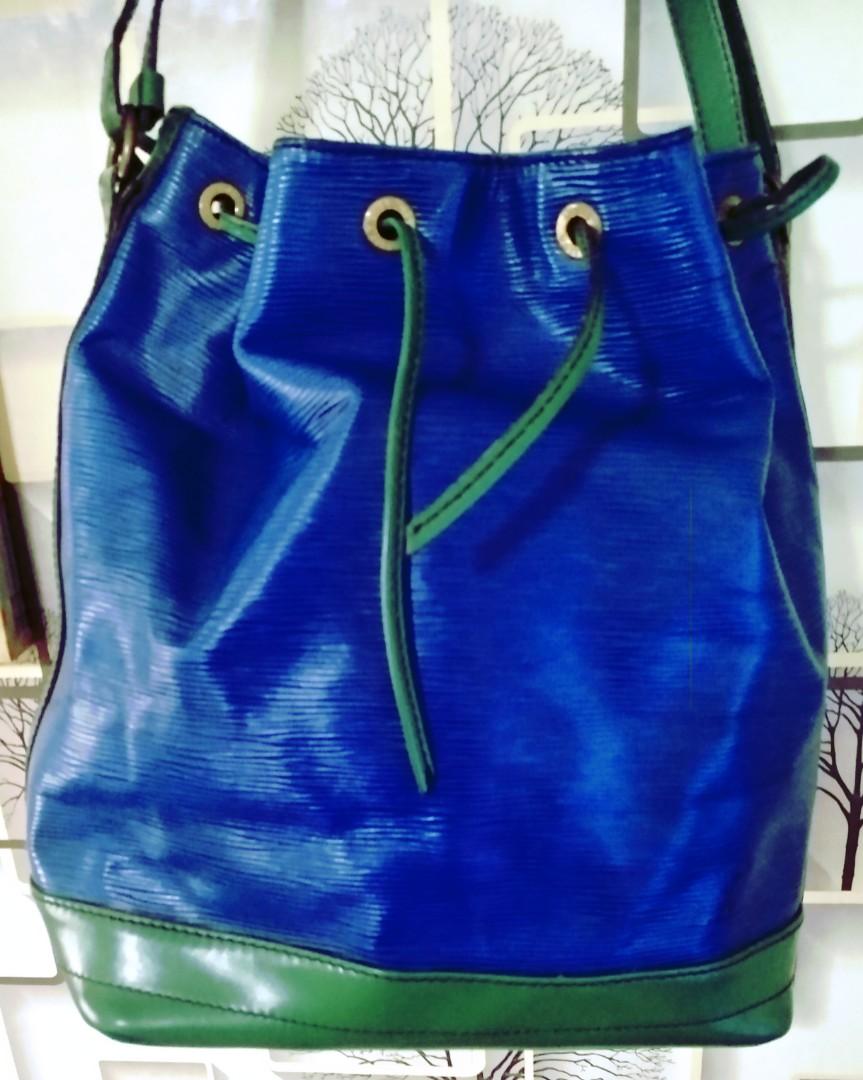 b2cf41fafd41 Authentic Louis Vuitton Epi Leather Noe GM Shoulder Bag