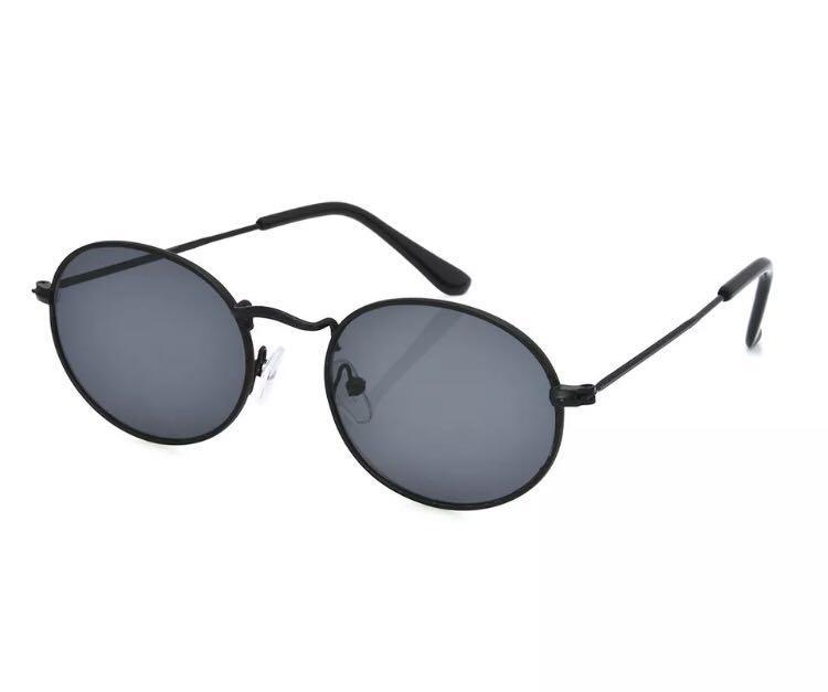 Black small frame sunglasses
