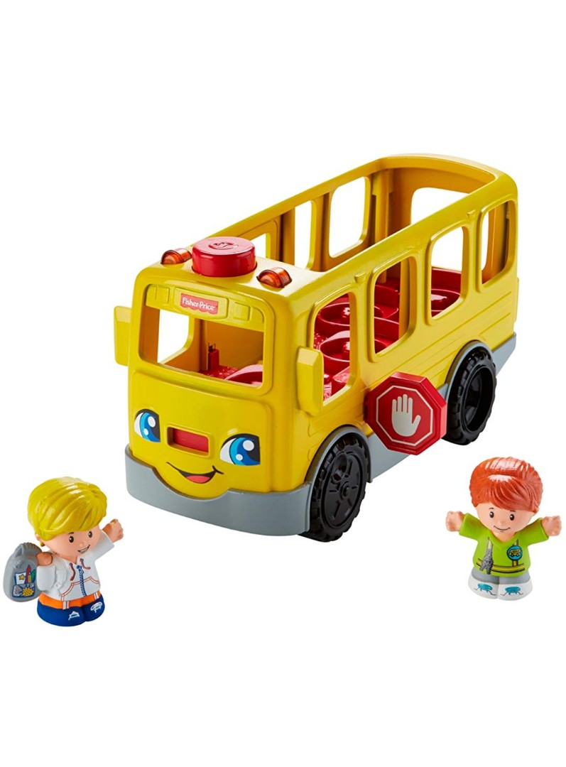 BNIB - Fisher-Price Little People Sit with Me School Bus Vehicle