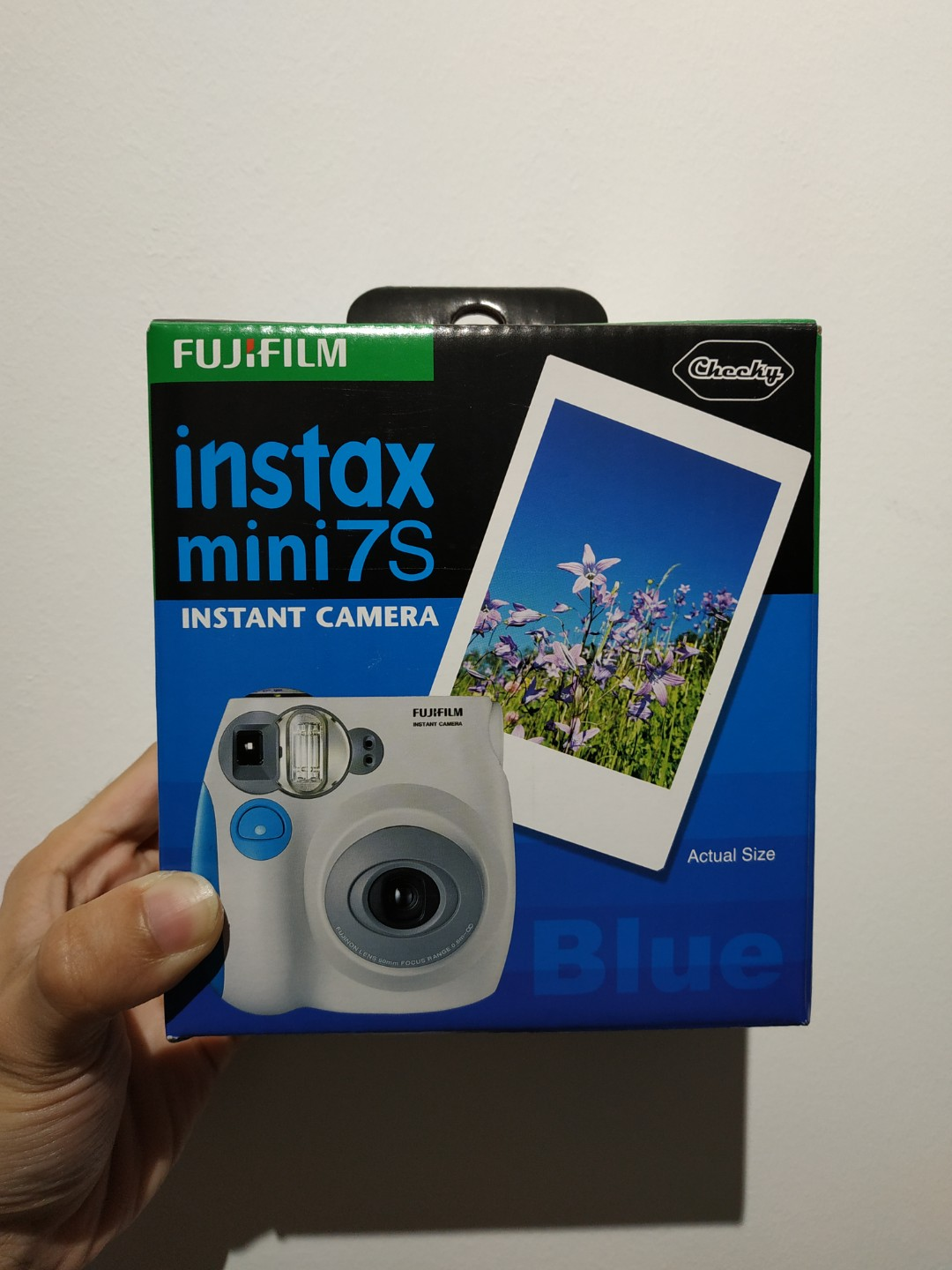 5422d86f714 BNIB Instax Mini 7S (Blue), Photography, Cameras, Others on Carousell