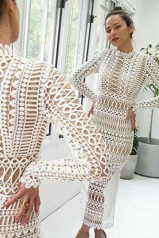 BNWT Shakuhachi White Borders Dress