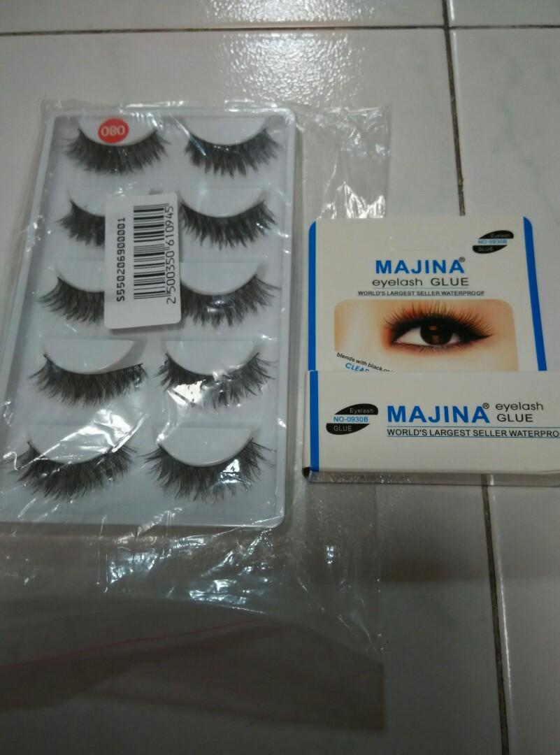 6f0343e10c2 Brand new Fake Eyelashes set with glue, Health & Beauty, Makeup on ...