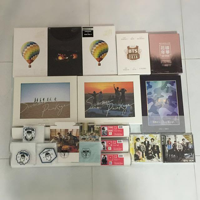 BTS OFFICIAL/CONCERT Goods & Album, Entertainment, K-Wave on