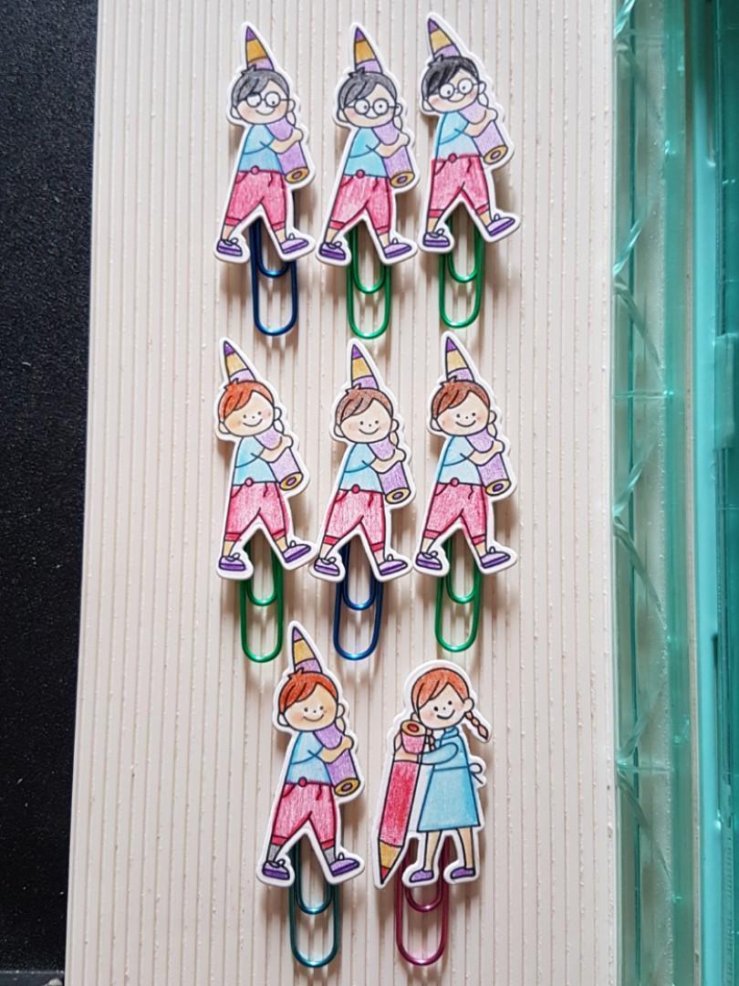 Handmade clippies/bookmarks, Design & Craft, Handmade Craft