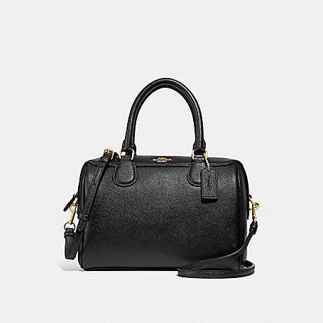 d70196df696 Coach F36624 Mini Bennett Satchel in Crossgrain Leather - Black color,  Women s Fashion, Bags   Wallets, Handbags on Carousell