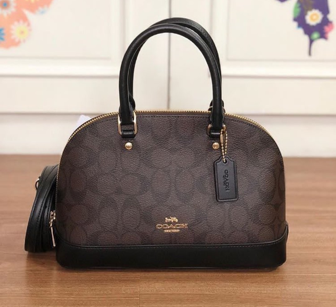 Coach Sierra Medium Signature Authentic eb69afe916