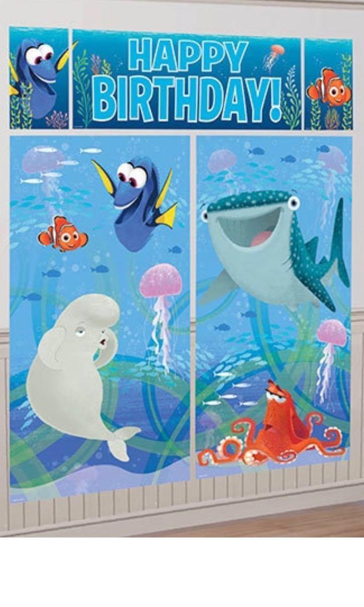 f4e93f2389f Finding Dory Nemo Party Decorations