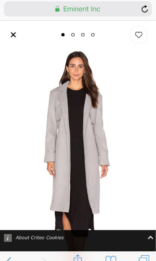 Grey Coat S/M ( more like M)