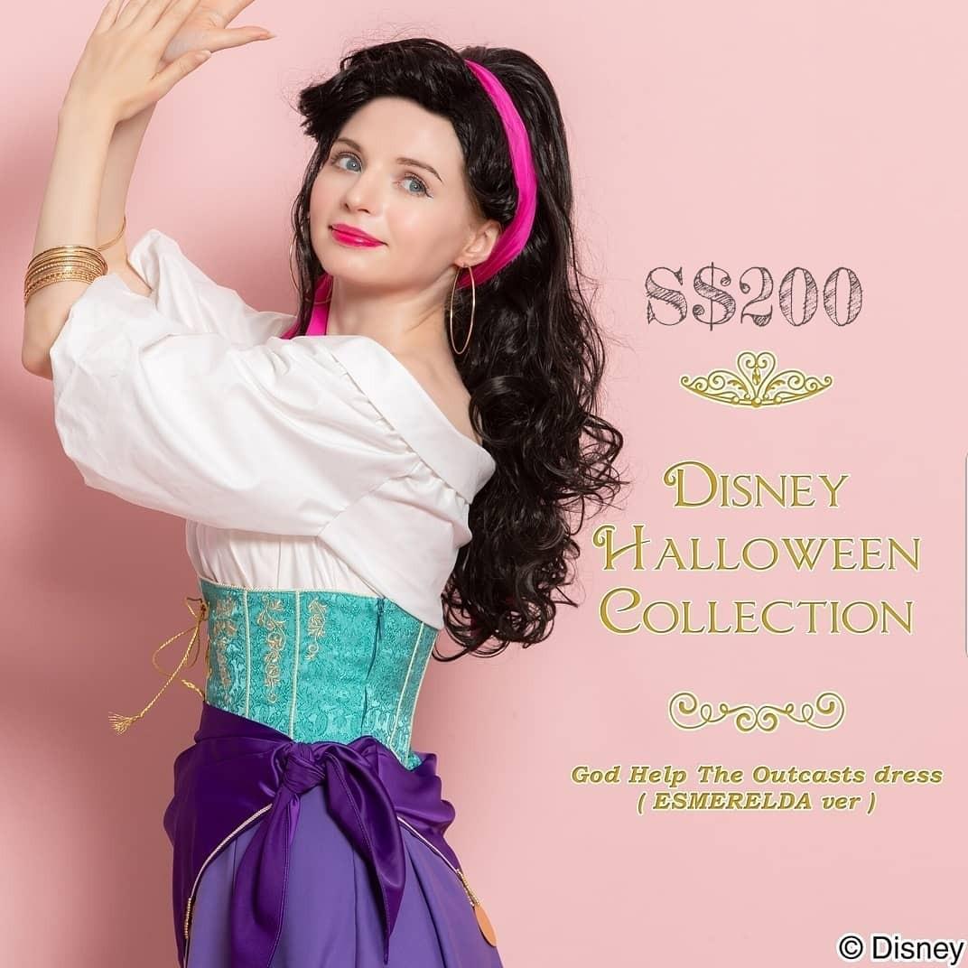 Costume Halloween Esmeralda.Halloween Collection Esmeralda Women S Fashion Clothes Dresses