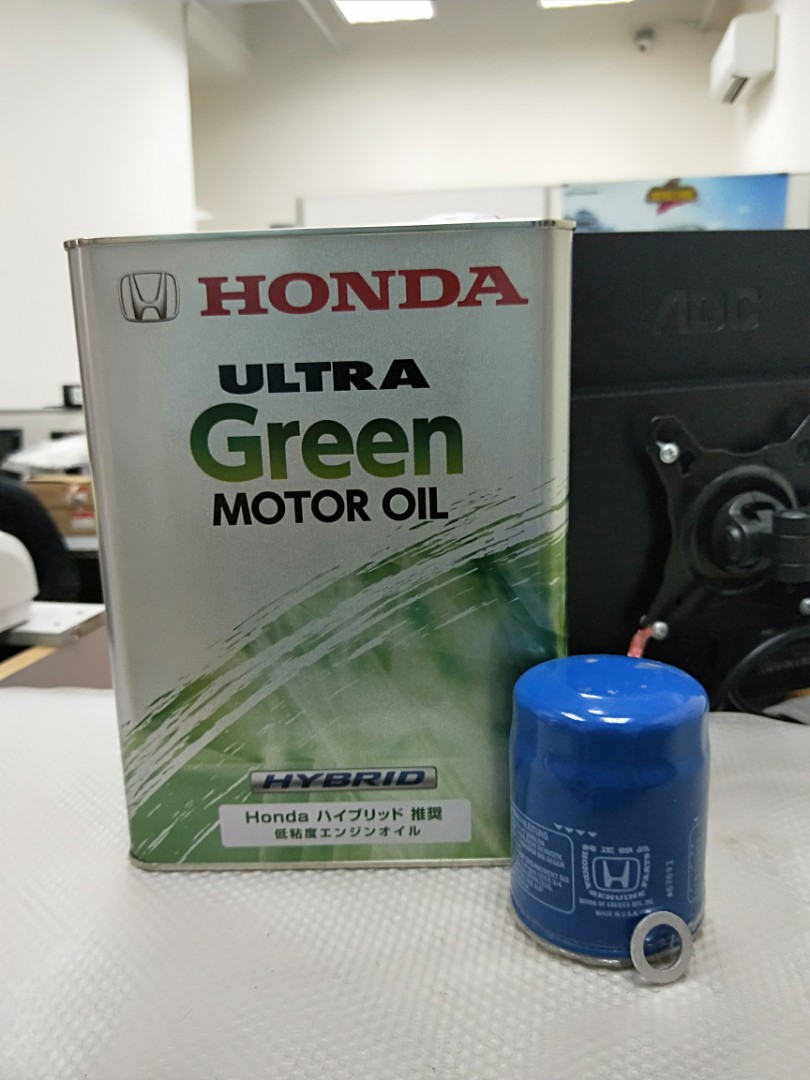 Honda Engine Oil Made In Japan For Hybrid Car Vezel Hybrid