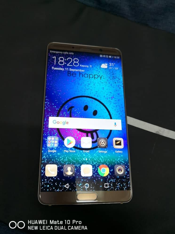 HUAWEI MATE 10 LIKE NEW PHONE ONLY