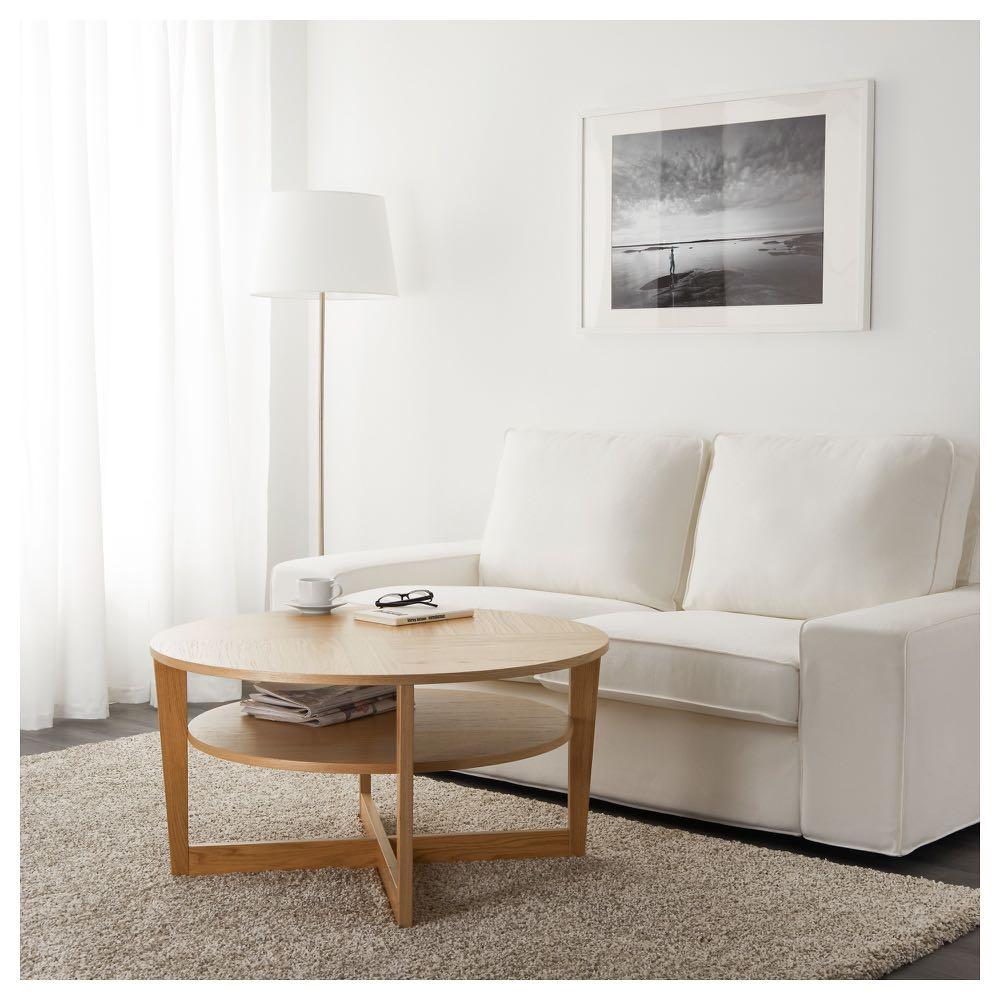 new style 618ca 73cd2 IKEA VEJMON Coffee Table Oak Veneer 咖啡桌