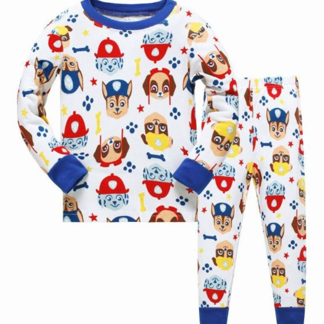 In stock  Paw Patrol Design Pajamas  Sleepwear (5Y ONLY) 76a057903