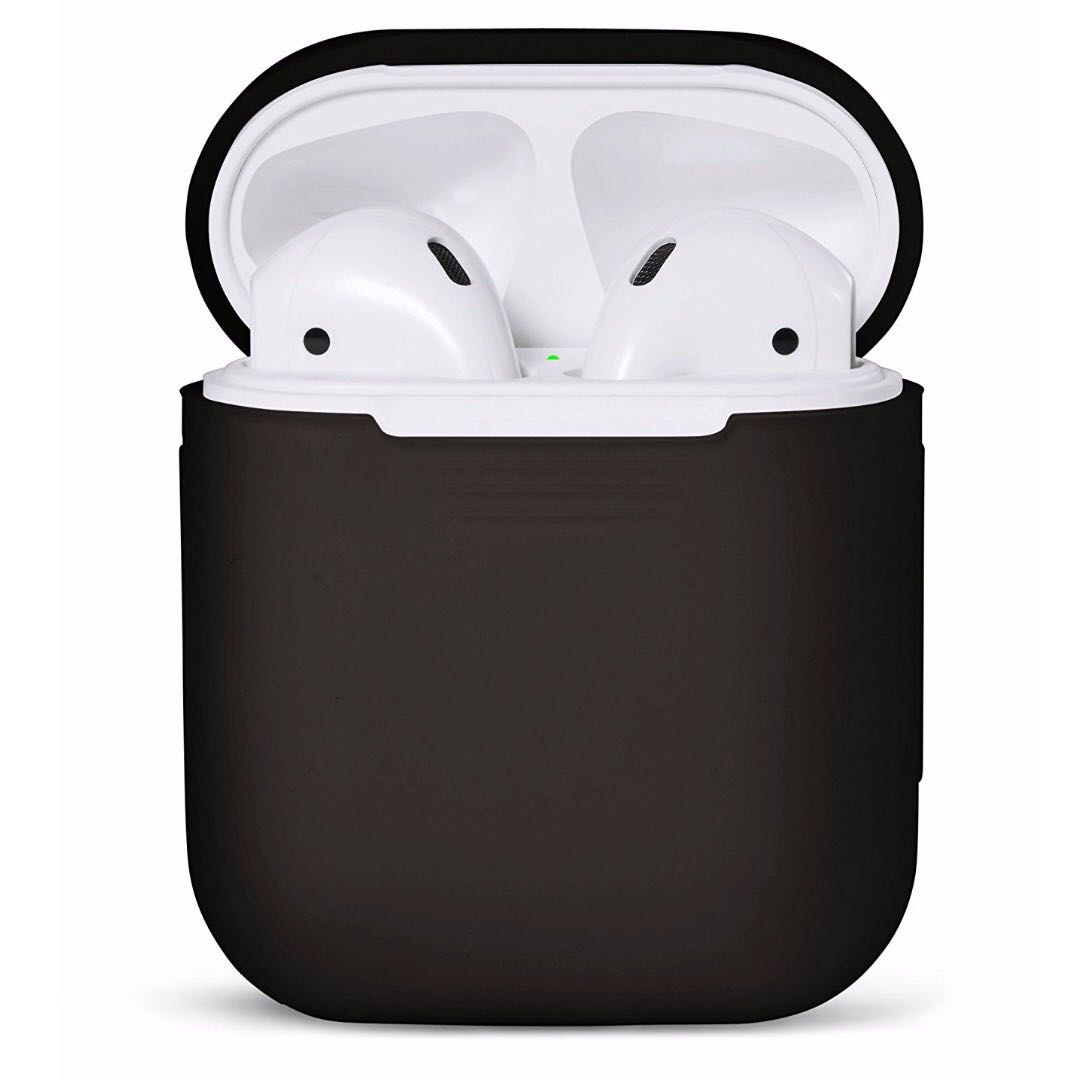 99fa52ded55 IN-STOCK] AirPods Case Protective Silicone Cover and Skin for Apple ...