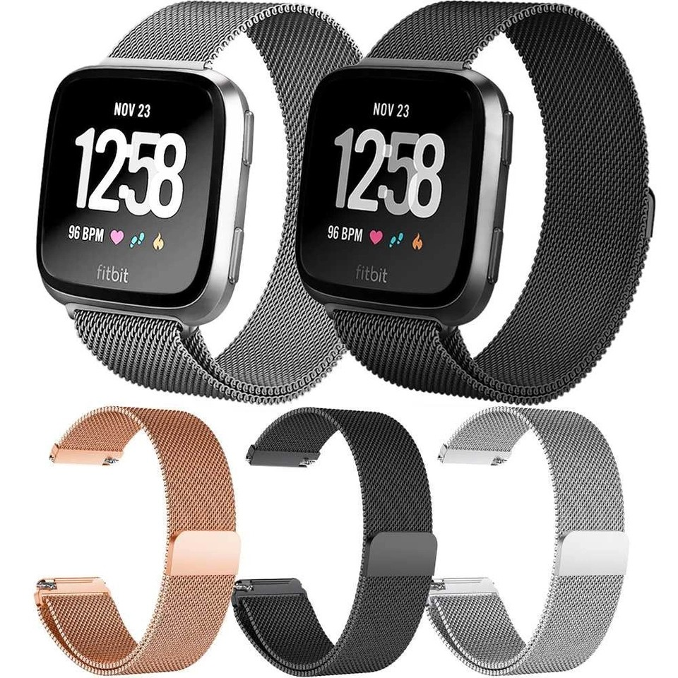Instock Sep S Fitbit Versa Strap Milanese Electronics Others Oem Fitbit Alta Strap Milanese Loop Magnetic