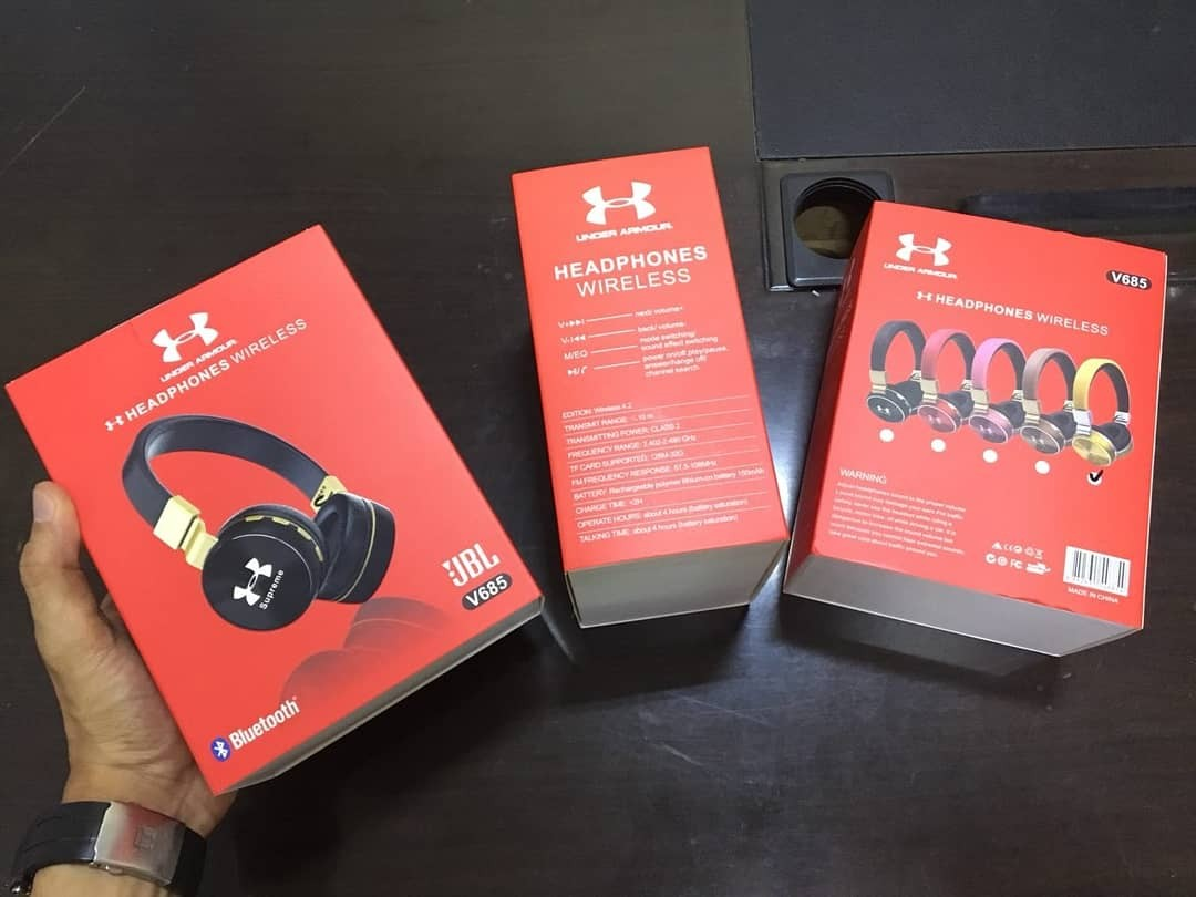 a9abe76e0b8 Jbl X Under Armour Wireless Headphone, Electronics, Audio on Carousell