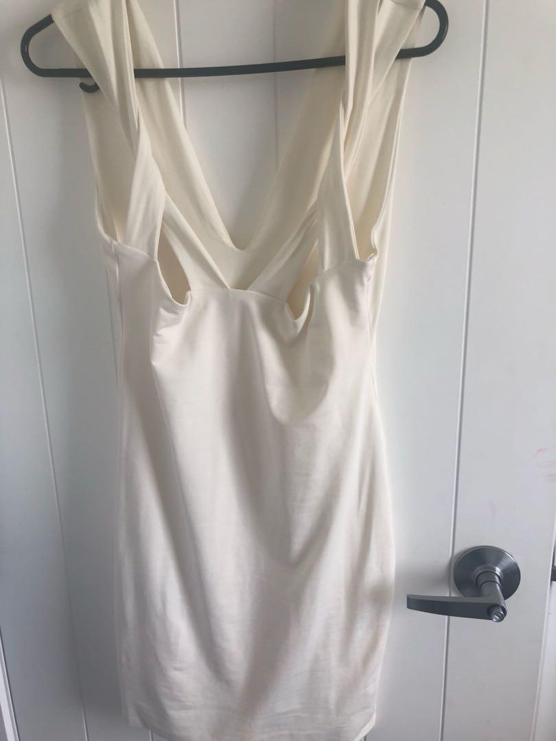 Kookai Tight white dress
