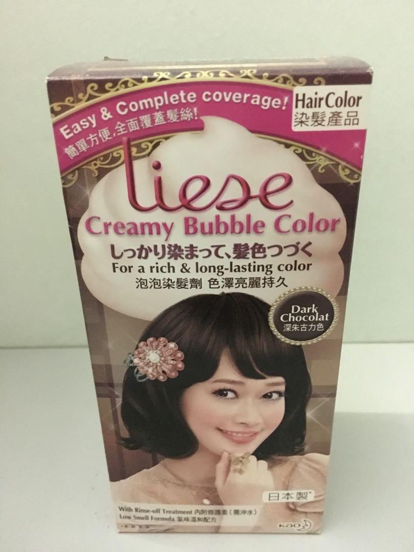 Liese Bubble Hair Dye Dark Chocolate Produk Badan Dan Kecantikan