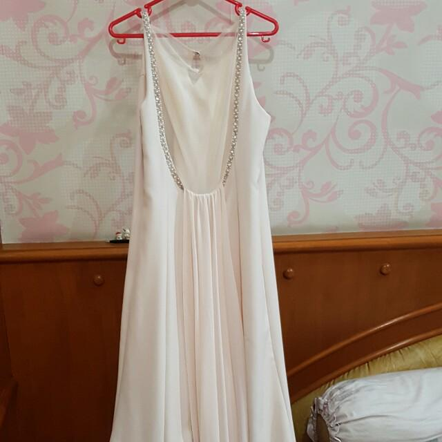 Longdress putih
