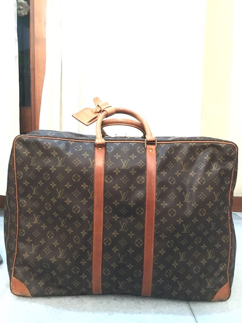 9c536db6e42e LOUIS VUITTON Monogram Canvas Sirius 70 Soft Sided Suitcase