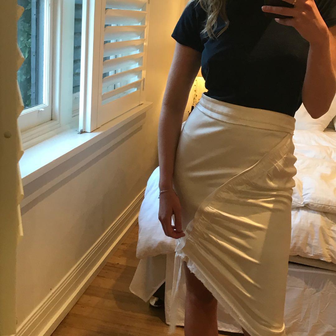 Manning Cartell Silk Skirt, Size 8