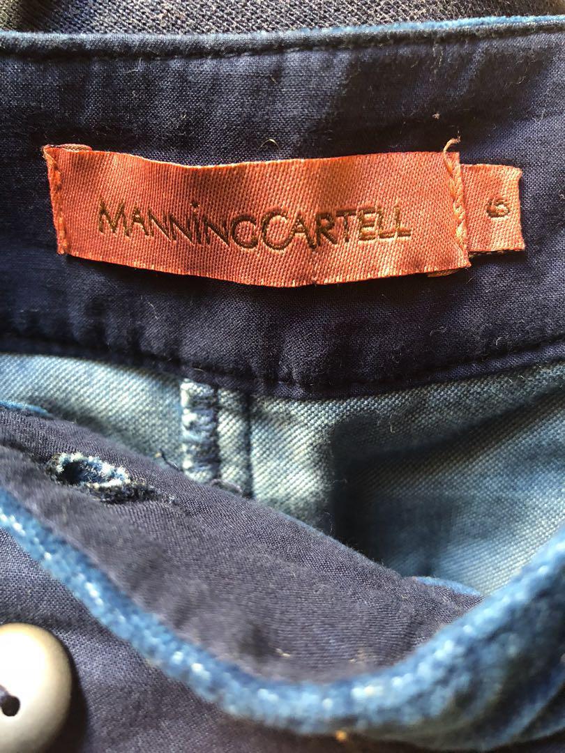 Manning cartell velvet short