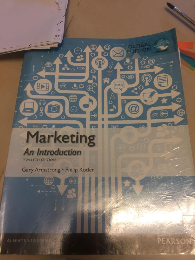 Marketing an introduction 12 edition
