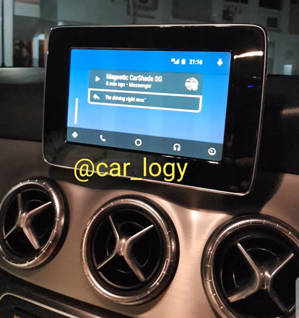Mercedes Benz Apple CarPlay & Android Auto Activation , Car