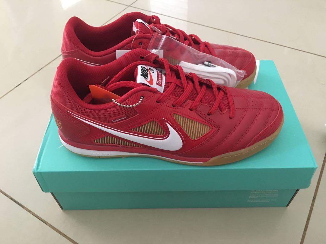 good texture good quality cheap price Nike SB Gato x Supreme