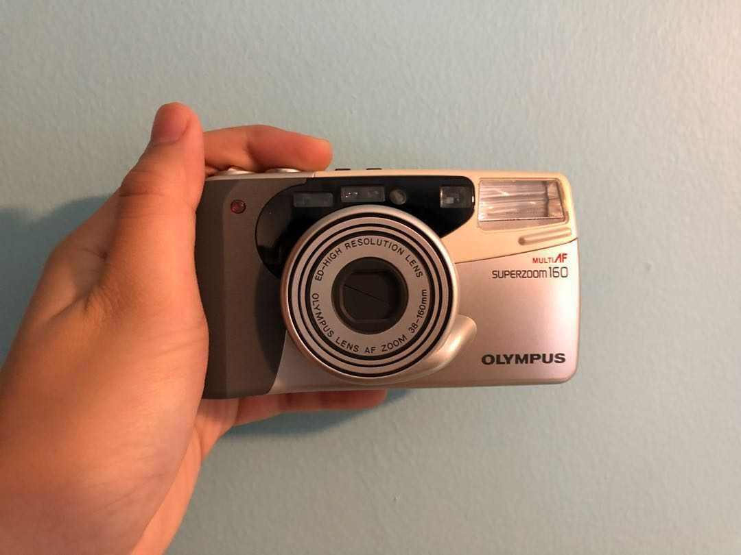 Olympus Superzoom 160 (Faulty P&S Film Camera)