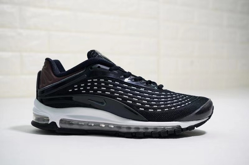 caf3c6d191 Original Nike Air Max 97 Deluxe OG Black Red White, Men's Fashion,  Footwear, Sneakers on Carousell