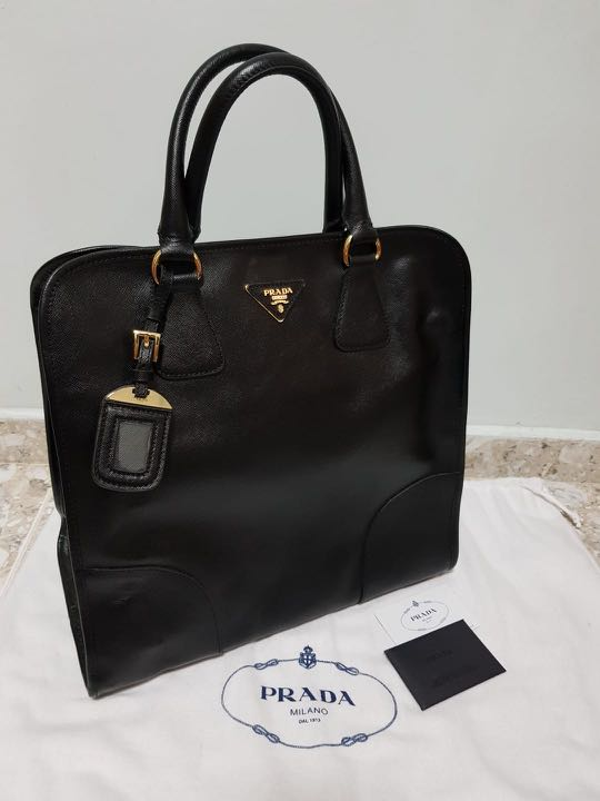 6d50d2eeeeae64 Prada - Saffiano Lux Tote - BN2253, Luxury, Bags & Wallets, Handbags ...