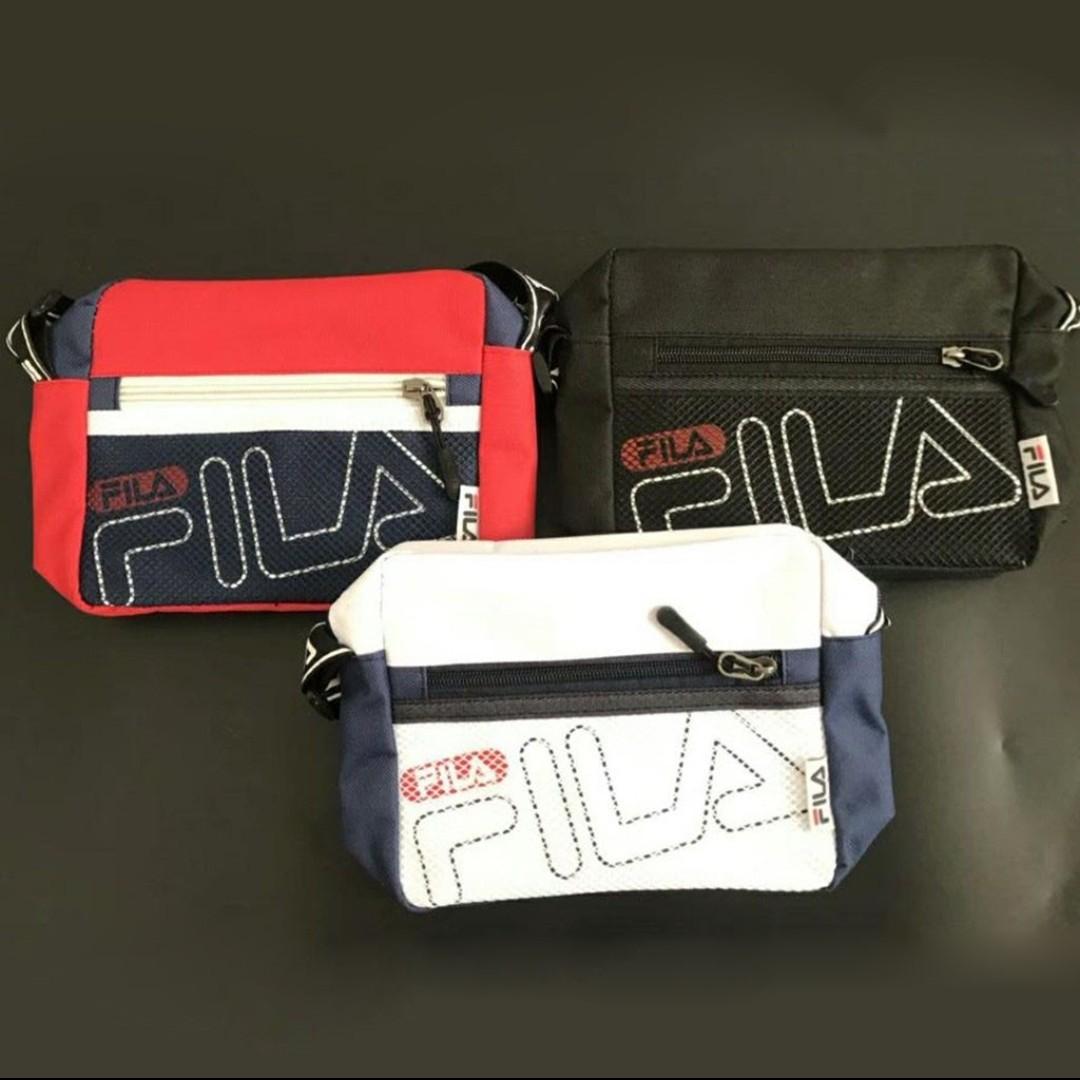 d156d05d8b Pre-order] FILA crossbody shoulder bag, Men's Fashion, Bags ...
