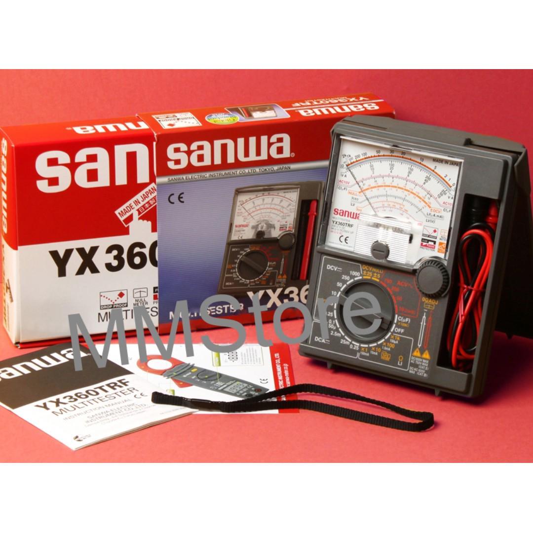 Sanwa Analog Multimeter YX360TRF, Electronics, Others on