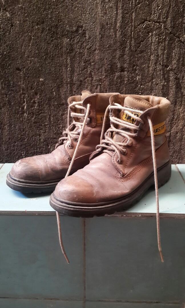 Sepatu Boots Kulit 71e20636b4