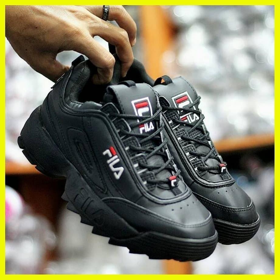 sepatu fila wanita sport cewek disruptor 2 import ori murah original asli  terbaru 2018 bc74acb305