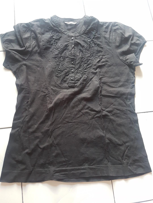 T shirt hammer hitam
