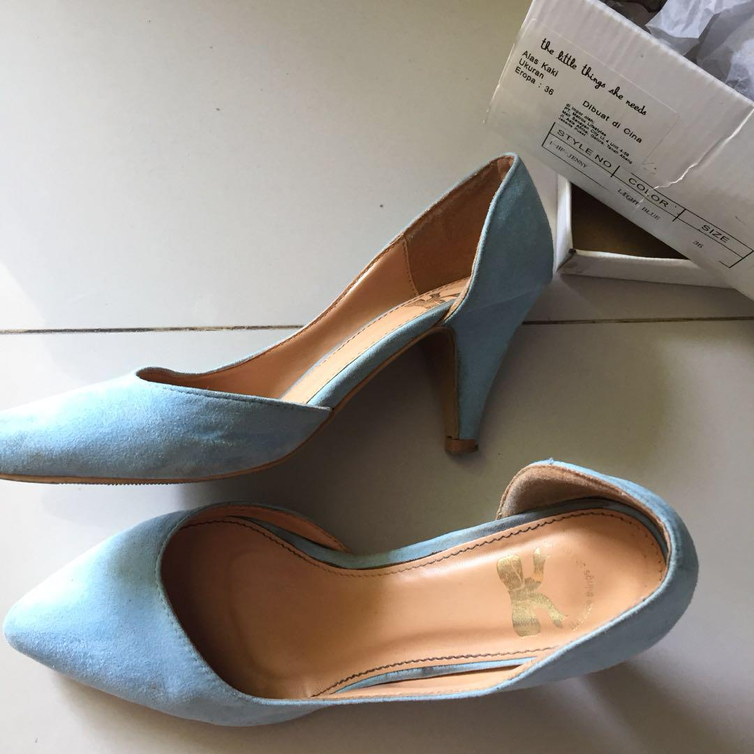The Little Things She Needs BLUE HEELS