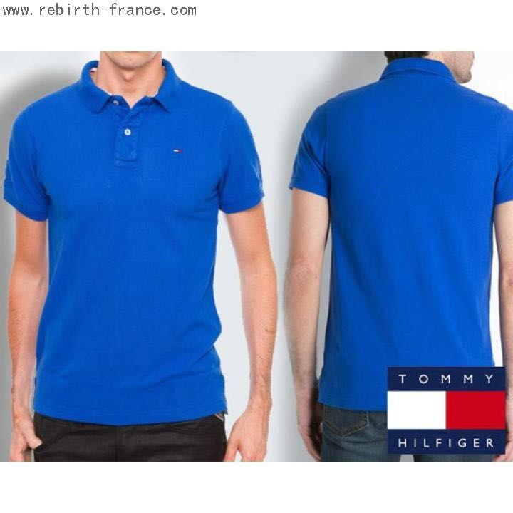 30fa7e1e6141 Tommy Hilfiger Polo T (Blue)