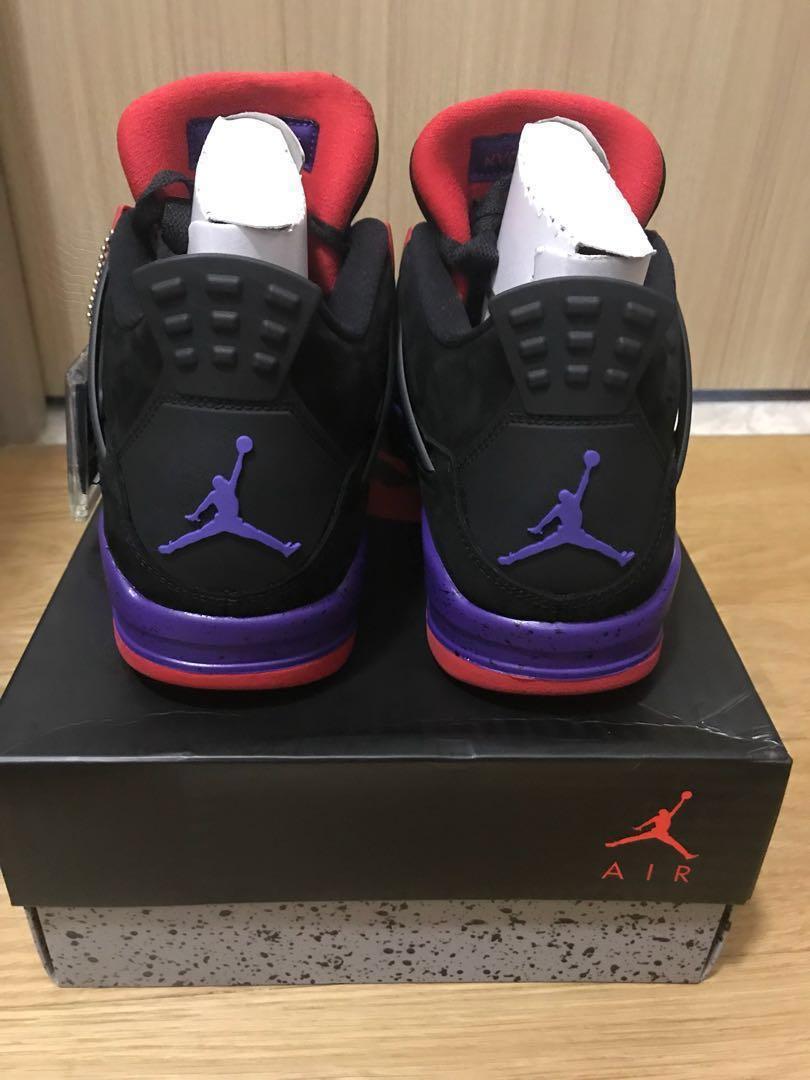 info for e7612 de073 US9.5 Air Jordan 4 Retro Raptors NRG, Men s Fashion, Footwear, Sneakers on  Carousell