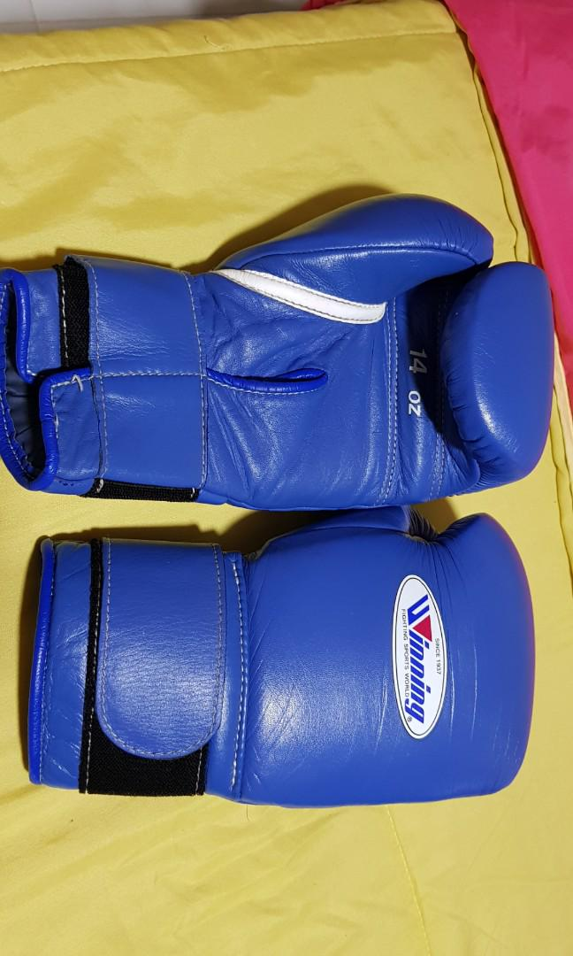 Winning boxing gloves 14oz, Sports, Sports & Games Equipment