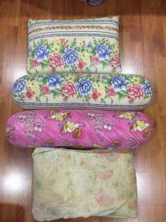 Kids pillows (bantal kekabu)