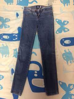 Bershka denim skinny jeans